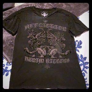 Men's Affliction Tee shirt